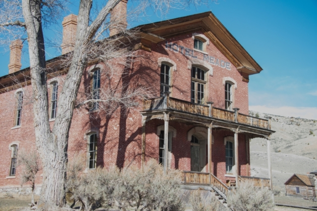 Hotel Meade in Bannack Montana, a ghost town