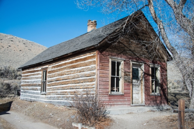 Early home in Bannack MT